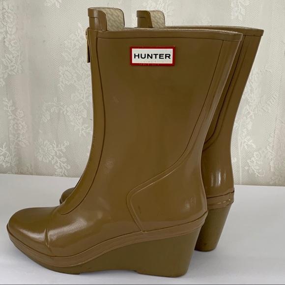 "Hunter ""Miles"" Wedge Rain Boots"